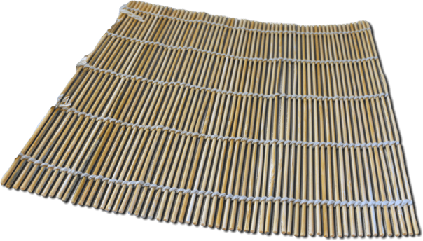 sushimat bamboe 24 x 24 cm