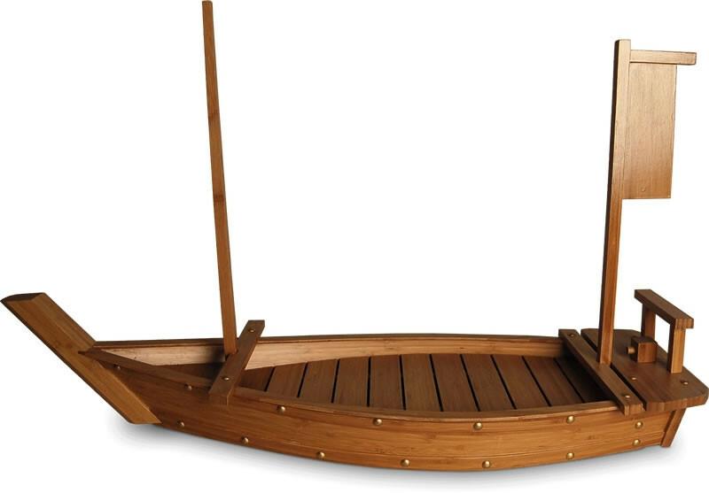 sushiboot 90 bamboe 90 x 30 cm