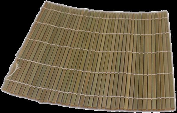 sushimat dik bamboe 24 x 24 cm