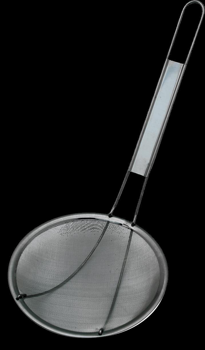 oliezeef vetspaan RVS Ø 15 cm