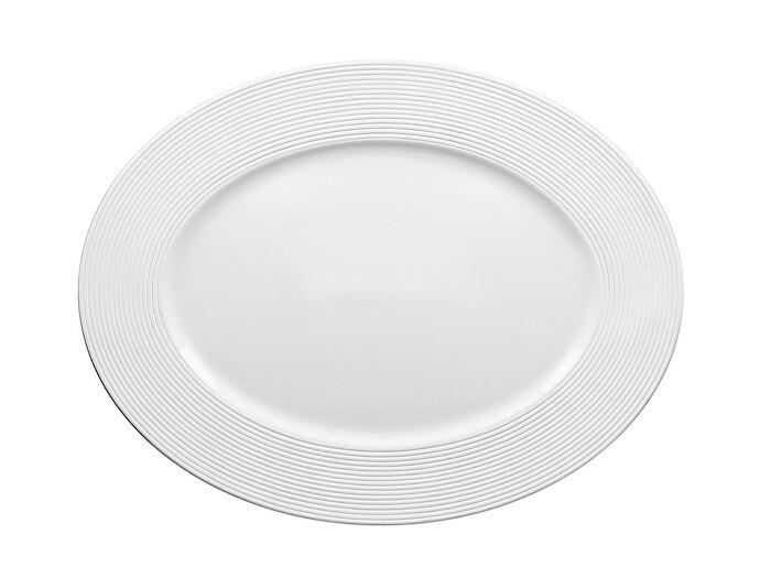 RAK Evolution bord ovaal 34 x 25,5 cm