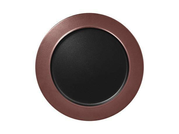 RAK Metalfusion bord plat brons 32 cm