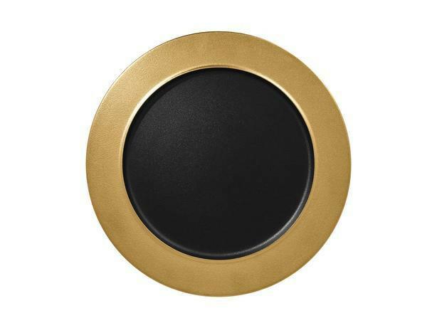RAK Metalfusion bord plat goud 32 cm