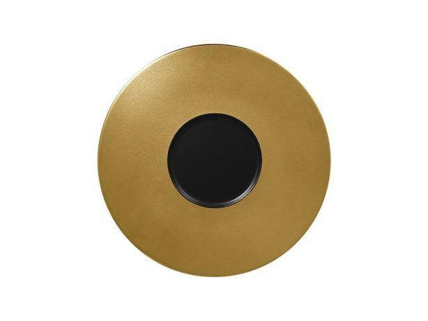 RAK Metalfusion gourmet bord goud 29 cm