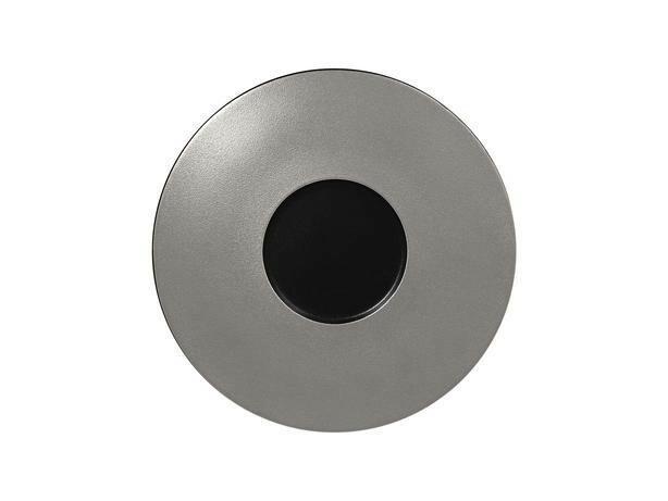 RAK Metalfusion gourmet bord zilver 29 cm