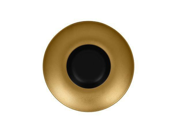 RAK Metalfusion gourmet bord diep goud 26 cm