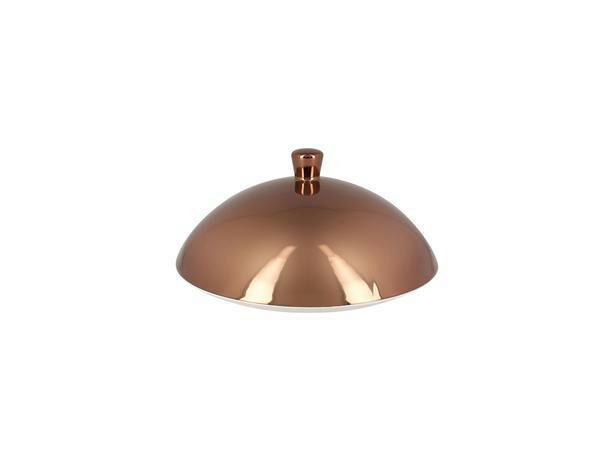 RAK Metalfusion cloche voor gourmet bord diep brons 26 cm