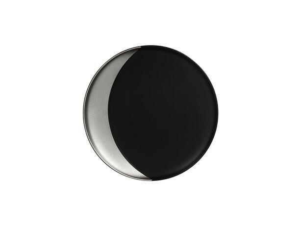 RAK Metalfusion coupe bord diep zilver 24 cm
