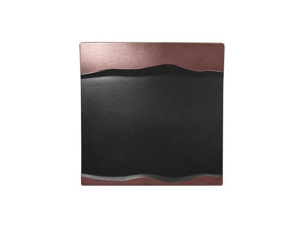 RAK Metalfusion schaal vierkant brons 25 cm