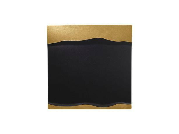RAK Metalfusion schaal vierkant goud 25 cm