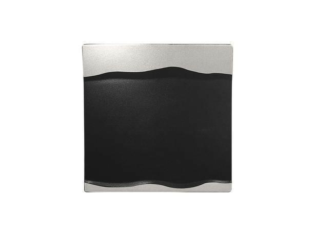 RAK Metalfusion schaal vierkant zilver 25 cm