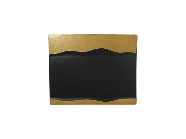RAK Metalfusion schaal rechthoek goud 25 x 20 cm