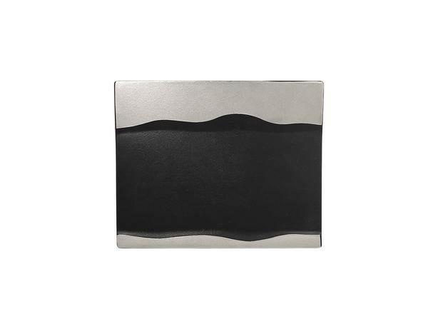 RAK Metalfusion schaal rechthoek zilver 25 x 20 cm