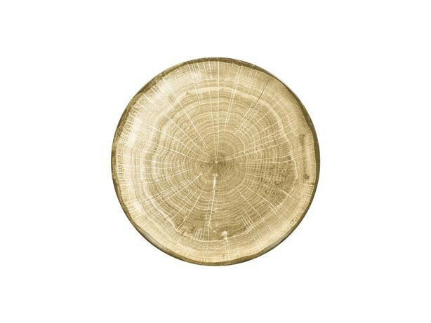 RAK Woodart Moss green coupe bord 27 cm
