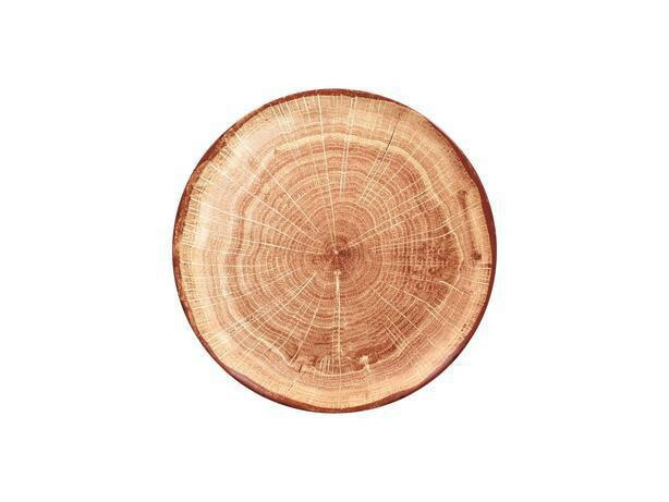 RAK Woodart Timber Brown coupe bord 27 cm