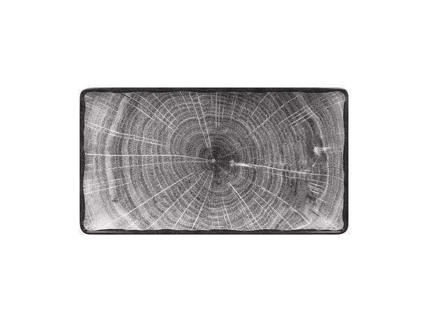 RAK Woodart Beech Grey bord rechthoek 33,5 x 18 cm