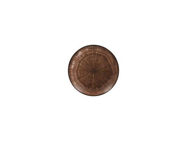 RAK Woodart Oak Brown coupe bord 15 cm