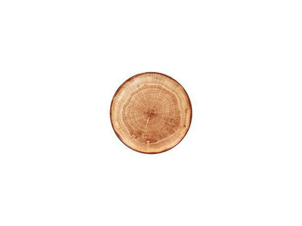 RAK Woodart Timber Brown coupe bord 15 cm