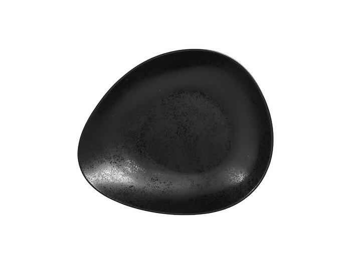 RAK Suggestions Shaped bowl Karbon 28 x 23 x 4,5(h) cm