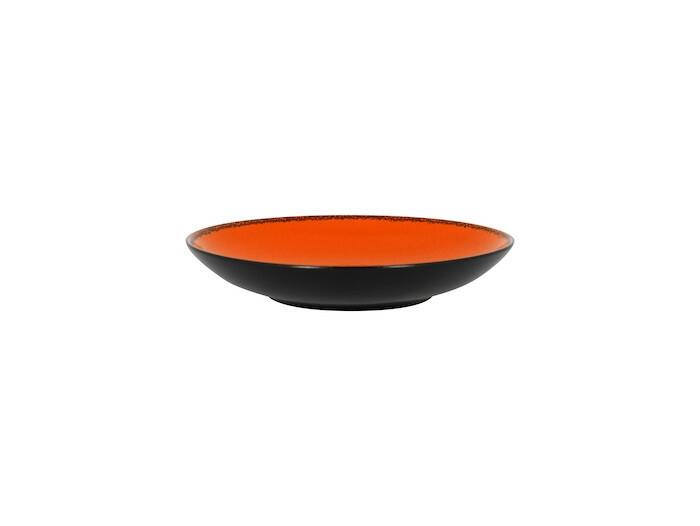 RAK Fire diep coupe bord oranje 23 cm