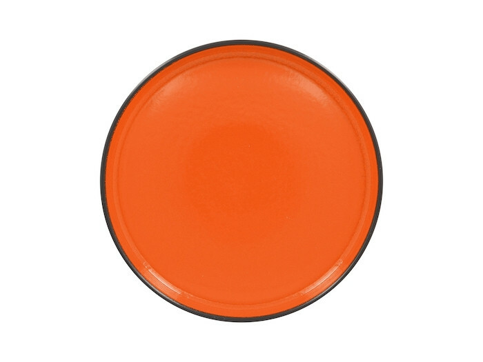 RAK Fire plat bord opstaande rand oranje 27 cm