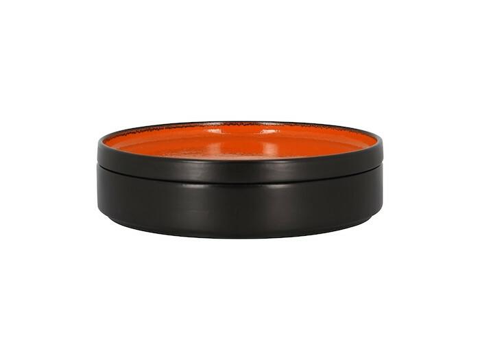 RAK Fire plat bord opstaande rand oranje 23 cm
