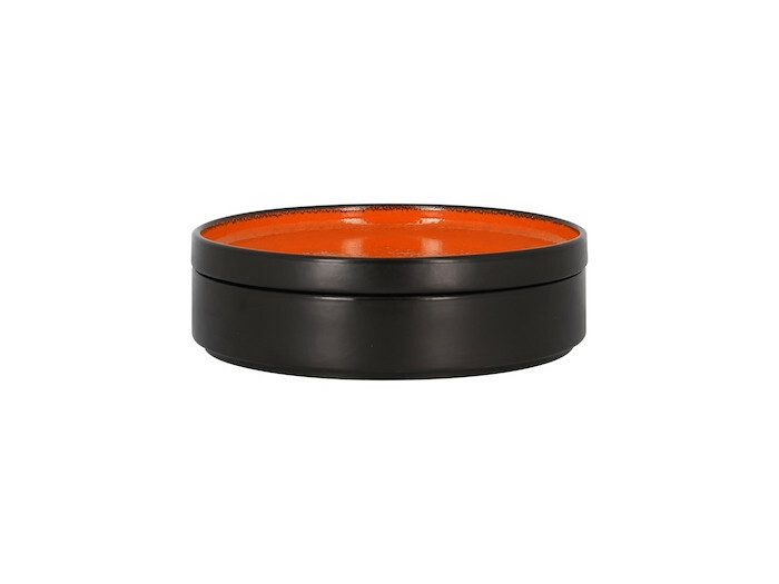 RAK Fire plat bord opstaande rand oranje 20 cm