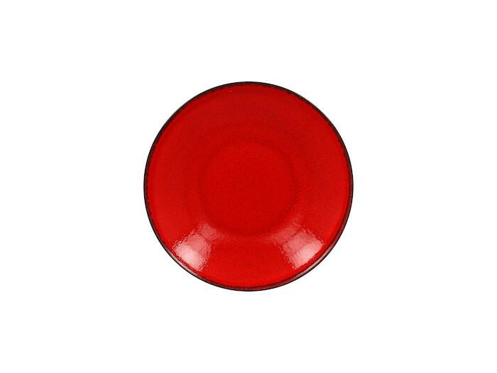 RAK Fire diep coupe bord rood 28 cm
