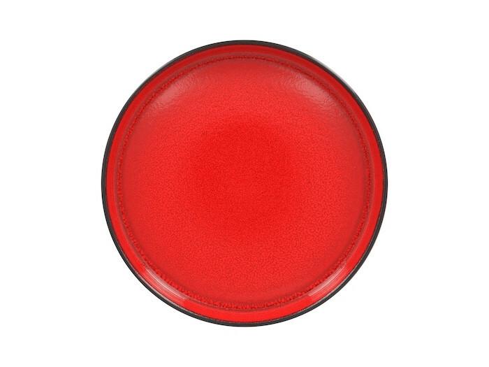 RAK Fire plat bord opstaande rand rood 27 cm