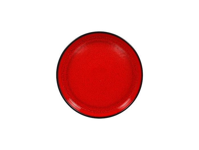 RAK Fire plat bord opstaande rand rood  23 cm