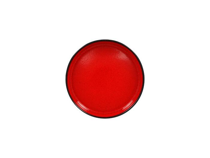 RAK Fire plat bord opstaande rand rood 20 cm