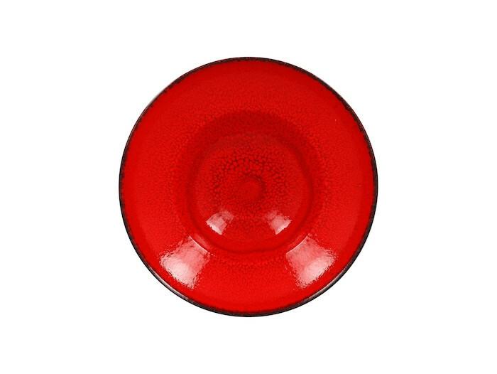 RAK Fire extra diep bord rood 26 cm