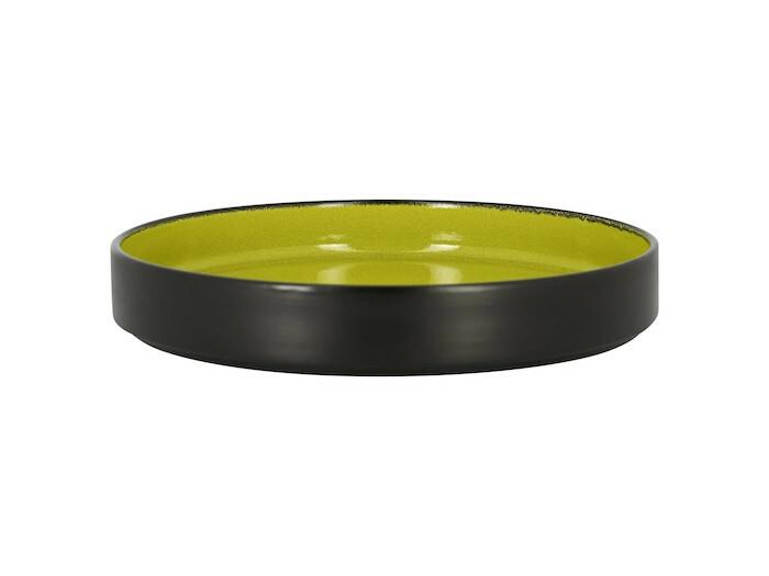 RAK Fire plat bord opstaande rand groen 27 cm