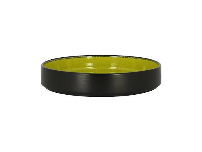 RAK Fire plat bord opstaande rand groen 23 cm