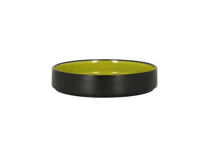 RAK Fire plat bord opstaande rand groen 20 cm