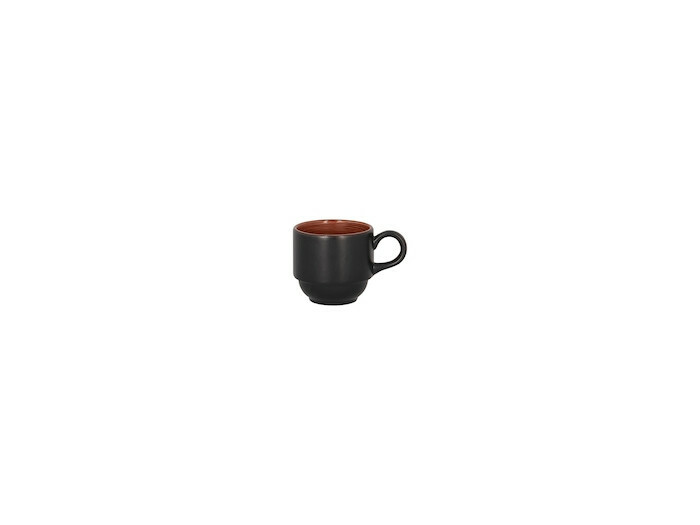 RAK Trinidad espresso kop stapelbaar walnut 9 cl