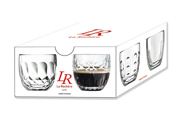 La Rochere Troquet espressoglas 10 cl assorti DOOS 4