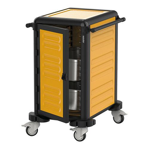 voedseltransportwagen 1/1 GN * gesloten uitvoering 78 x 57 x 99(h) cm