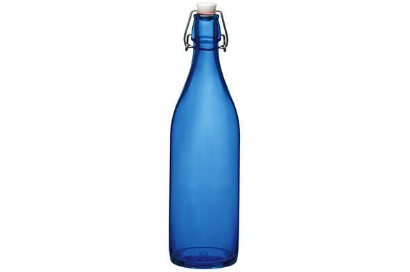 Bormioli Rocco Giara waterfles blauw spray 1 Ltr