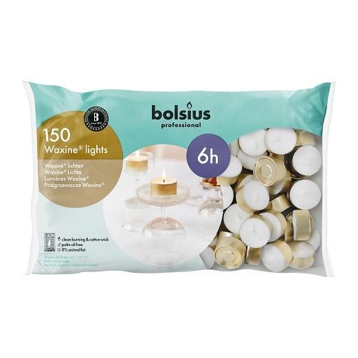 Bolsius waxinelichtjes Professional Waxine 6 uurs DOOS 150