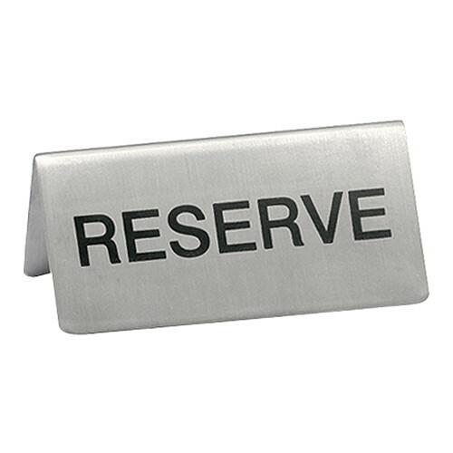 tafelbordje RVS RESERVE 10 x 4,5(h) cm