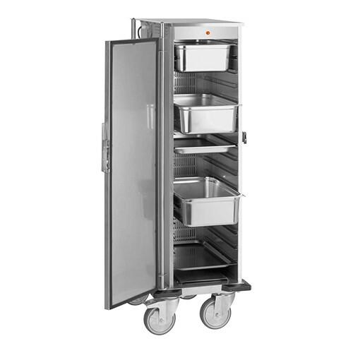 voedseltransportwagen 1/1 GN * verwarmde uitvoering 67 x 50 x 157(h) cm
