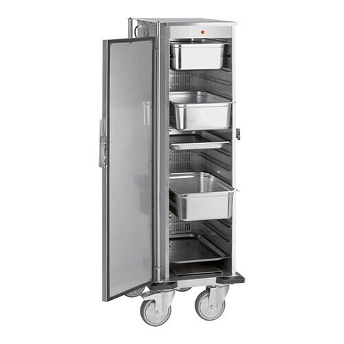 voedseltransportwagen 1/1 GN * verwarmde uitvoering 67 x 50 x 109(h) cm
