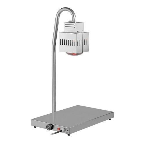 warmhoudplaat met warmhoudlamp * 500 W GN 1/1