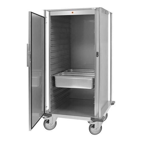 voedseltransportwagen 2/1 GN * verwarmde uitvoering 88 x 77 x 157(h) cm