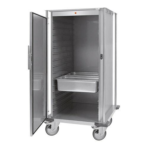 voedseltransportwagen 2/1 GN * verwarmde uitvoering 88 x 77 x 109(h) cm