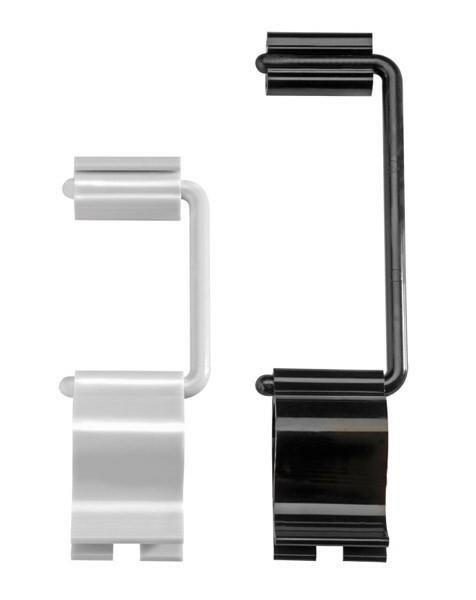 kaarthouder Flex Clip zwart 9,5 cm DOOS 10
