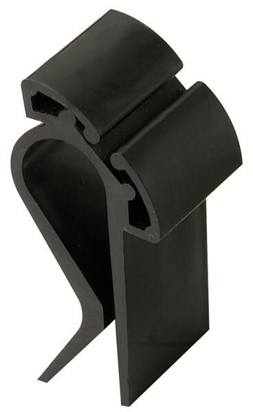kaarthouder zwart 6 x 2,7 cm zwart DOOS 10