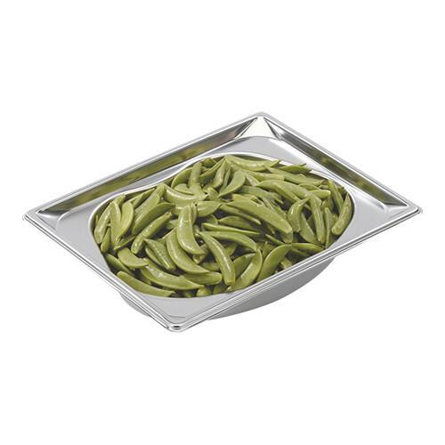 gastronormbak RVS GN 1/2 diep 6,5 cm Kidney Shape