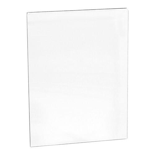 menu insteekmap 15 x 21(h) cm voor menustandaard 080007